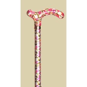 英国製総花柄伸縮杖/ピンクフローラル|panastick
