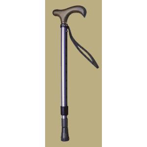 コンパクト伸縮杖パープル panastick