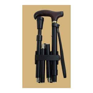 クッション機能付折りたたみ伸縮杖V06407|panastick