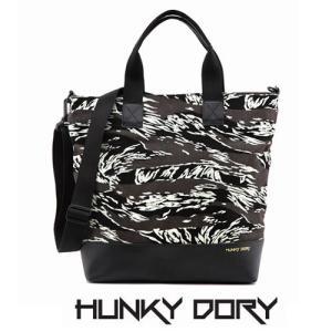 HUNKY DORY 846 TOTE BAG CAMO 2way ハンキードリー カバン トートバッグ 通勤 通学 デイパック メンズ レディース キャン|pancoat