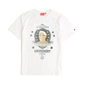 CRITIC クリティック CHICKEN KILLER HEAD TEE WHITE KFC カーネルサンダースtシャツ カジュアルロゴT アメカジt ストリー|pancoat