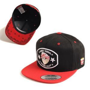 CRITIC クリティック CHICKEN KILLER 2 SNAPBACK CAP BLACK 刺繍 キャップ カジュアル スナップバッグ SNAPBACK 帽子 ニュ|pancoat