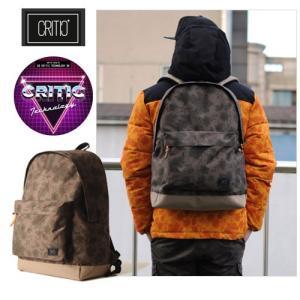 CRITIC クリティック C2 カジュアル ペイズリー柄 バッグ リュックサック メンズバック リュックサック デイバックパソコン アメカジ系 ストリー|pancoat