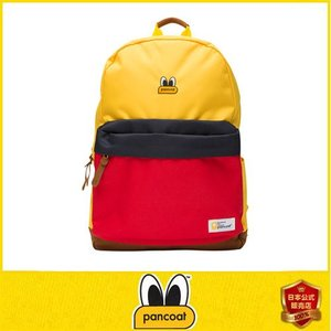 Pancoat POPEYES LIGHT DAILY COLORBLOCK BACKPACK FA ALPHA YELLOW キャラクター リュックサック 大きい鞄 カバン 旅行 パンコート|pancoat