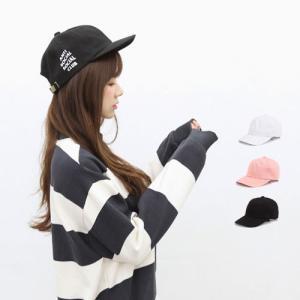 ロゴ/ベースボールキャップ/レディース/帽子/メンズ レディース ボールキャップ スナップバックキャ...