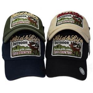deer アメリカン 鹿 ベースボールキャップ メンズ キャップ 帽子 b系 ヒップホップ ストリート系 ローキャップ シンプル 男女兼用 B1987|pancoat