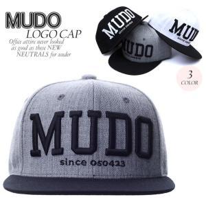 MUDO LOGO 3色 CHAIN 刺繍 韓国産 キャップ ロゴ パッチキャップ 帽子 キャップ レディース メンズ ベーシック スナップバック キャップ SNAPB|pancoat