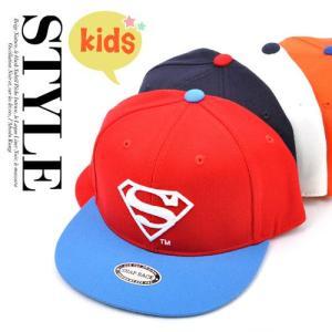 子供用 superman スーパーマン S ロゴ SNAPBACK CAP kids スナップバッグ 帽子ヒップホップ ダンス hip pop 帽子 キャップ cap ニ pancoat