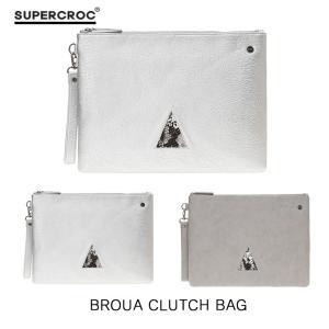 SUPERCROC スーパクロック クラッチバッグ ポーチバッグ カバン BAG レディース メンズ デイパック 通勤 バッグ 大きめ カジュアル ストリート系 大きめ|pancoat