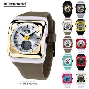 スーパークロック ANADIGI腕時計 高級シリコンベルト 防水 シリコンベルト デザイン腕時計 メンズ腕時計 レディース腕時計 ウォッチ ミリタリー時計 ストリート|pancoat