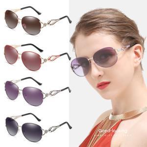 クロバー サングラス 上品でおしゃれ 偏光 レディース サングラス UV対策 UV400 シミ対策 大きめ サングラス UVカット sunglass 眼鏡 メガネ 紫外線対策 pancoat