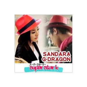 BIGBANG G-DRAGON 2ne1 SANDARA サンダラ スタイル パナマ帽 ボーラー帽 帽子 韓流|pancoat