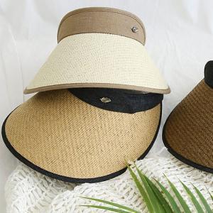 おしゃれ UV帽子 レディース キャップ ツバ広 日焼け防止 夏帽子 ハット 帽 バケットハット サ...