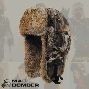 305SDINF hat ロシア ハット ラビットファー100% 帽子 スキー ボンバーハット パイロットキャップ 毛皮 冬帽子 キャップ レディース メンズ 耳あて付き|pancoat