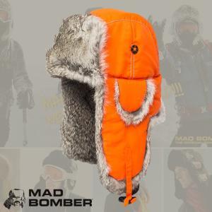 304BLZ ロシア帽子 hatハット スキー帽子 スキー場 マットボンバー ロシアン帽子 防寒用ボンバーハット パイロットキャップ 毛皮 冬帽子 ラビットファー ロシア|pancoat