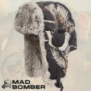 304RSBLK ロシア ハット ラビットファー100% 帽子 スキー ボンバーハット パイロットキャップ 毛皮 冬帽子 キャップ レディース メンズ 耳あて付き帽子|pancoat