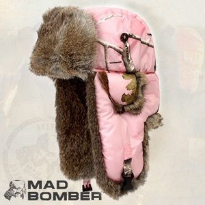 305RSPIK ロシア ハット ラビットファー100% 帽子 スキー ボンバーハット パイロットキャップ 毛皮 冬帽子 キャップ レディース メンズ 耳あて付き帽子|pancoat