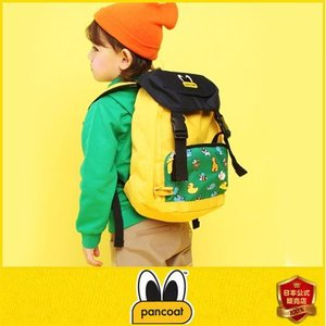 Pancoat KIDS 子供 キッズ パンコート POPEYES KIDS MULTIPRINT OUTDOOR BAG BANANA YELLOW キャラクター BAG バッグ リュ|pancoat