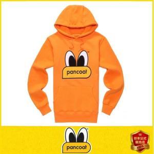 Pancoat パンコート EYES パーカー フード付き 裏地起毛 冬 Tシャツ パーカー 長袖 HOOD 長袖 パンコート キャラク パンコート|pancoat