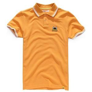 Pancoat パンコート ポロシャツ キャラクター T-シャツ 11POPEYES PK SHIRTS WOOD 半袖 夏 Tシャツ メンズ レディース パンコート|pancoat