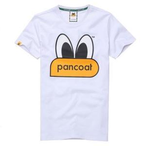 PANCOAT パンコート キャラクター T-シャツ POPEYES ホワイト  半袖 夏 トレーナー フード付半袖 Tシャツ メンズ レディース|pancoat
