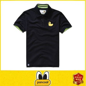 Pancoat パンコート POPDUCK PK T-SHIRTS ULTRA NAVY ブルー ポロシャツ PKシャツ キャラクター T-シャツ T-SHIRTS 半袖 パンコート pancoat