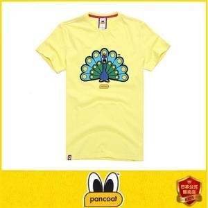 Pancoat パンコート キャラクター T-シャツ POPPEACOCK T-SHIRTS CITRIN LIME 半袖 夏 Tシャツ メンズ レディース パンコート|pancoat