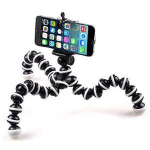 三脚 スマホスタンド ゴリラポット 三脚 リモコン付き じどり棒 自撮り棒 iPhone6 s 7 ...