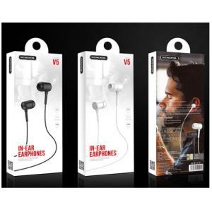 V5 スマートフォン イヤフォン ボリューム イヤホン android Iphone マイク付き 高音質 マイク付 アンドロイド かわいい ヘッドホン 3.5mm イヤホンジャック|pancoat