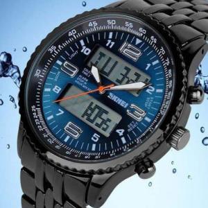 ファッション 腕時計 メンズ 格安 スポーツウォッチ スポーツ腕時計 ランニングウォッチ LED デ...