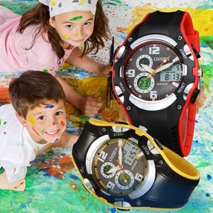 腕時計 LED アナログ デジタル ファッション メンズ キッズ レディース 子供 カジュアル 時計 腕時計 ウォッチ カラーウォッチ カラフルウォッチ 防水 ダイバー|pancoat