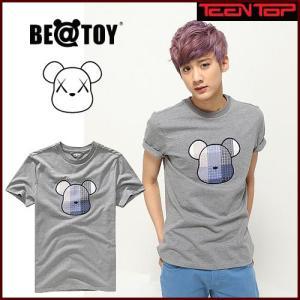 TEENTOP CHUNJI着用 BEATOY Tシャツ toy149