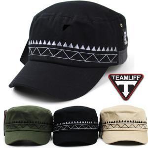TEAMLIFE インディアン ワークキャップ 帽子 メンズ レディースキャップ メンズキャップ 春 夏 秋 冬 UVカット 帽子 CAP コットン100% 男女兼用 無地 pancoat