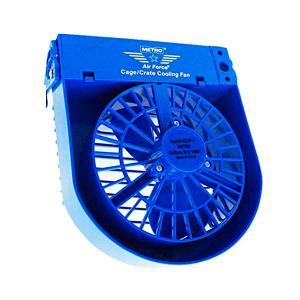 正規輸入品  ペット用扇風機 Metro Cage/Crate Cooling Fan メトロ ケージ/クレート クーリング・ファン ブルー|b03|pandafamily