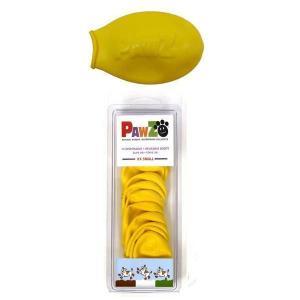 正規輸入品 アメリカ Pawz Dog Boots社製 ポウズ ラバードッグブーツ イエロー XXS PZXX|b03|pandafamily