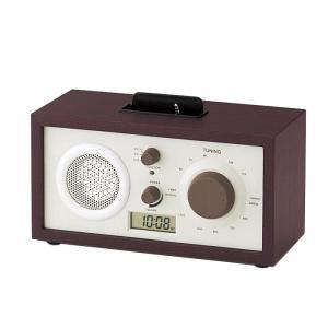 東出漆器 ウッディスピーカー&ラジオ (時計・アダプタ付) 3513|b03|pandafamily