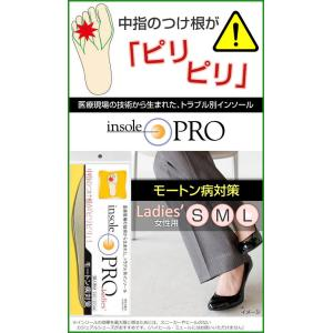 インソールプロ(靴用中敷き) モートン病対策 レディス・女性用 S(22〜22.5cm)|b03|pandafamily