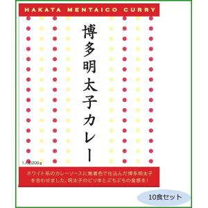 ご当地カレー 福岡 博多明太子カレー 10食セット|b03