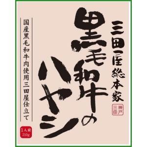 三田屋総本家 黒毛和牛のハヤシ 210g×20入|b03|pandafamily
