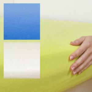 エアスルー 防水フィットシーツ ベビーベッドサイズ(120×70cm) グラスグリーン|b03|pandafamily