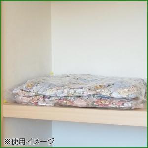 圧縮袋 羽毛ふとんの圧縮パック 1枚入|b03|pandafamily