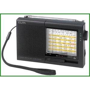 ELPA(エルパ) AM/FM短波ラジオ ER-C74T|b03|pandafamily