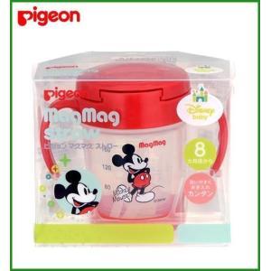 Pigeon(ピジョン) マグマグ ストロー ミッキー 13720|b03
