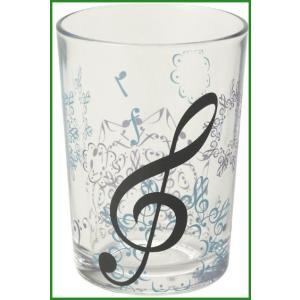 商品概要:音符がモチーフのグラスタンブラー。 商品詳細:音符が重なってできた模様が美しいグラスタンブ...