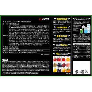 ユーワ おいしいフルーツ青汁 3種の活性炭 3g×20包 b03 pandafamily