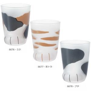 猫グラス coconeko 子猫 6676・ミケ|b03|pandafamily