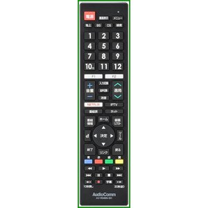 OHM AudioComm テレビリモコン シャープアクオス専用 AV-R340N-SH b03 pandafamily