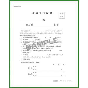 送料無料 契約9-4N /金銭借用証書 (B5/ヨコ書/ノーカーボン)|b03|pandafamily