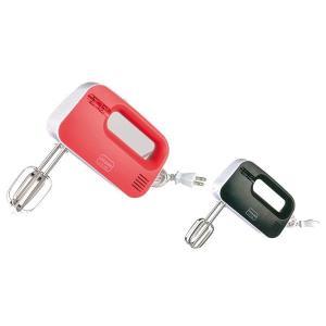 パール金属 ミラクルス 電動ハンドミキサー レッド・D-1123|b03|pandafamily