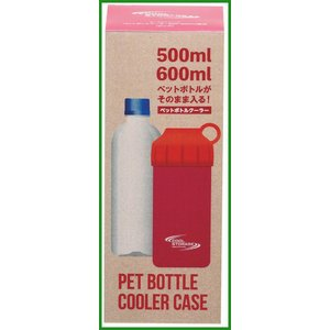 パール金属 クールストレージ ペットボトルクーラー500・600mL兼用 ピンク D-6482|b0...